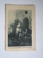 1930 CALENDRIERS PUBLICITAIRE LA MAISON ROCHEFORT Calendriers Réclame & Objets PARIS JEAN VAN DER MEER Entrée D'Auberge - Klein Formaat: 1921-40