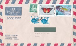 India Per Italia 1982 - By Air Mail - Posta Aerea - India