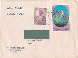India Per Italia 1975 - By Air Mail - Posta Aerea - India