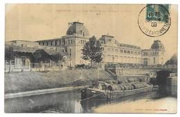 Toulouse Péniche La Gare Matabiau Et Le Canal Du Midi - Montauban