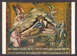 89323/ MOSAIQUE, Pietro CAVALLINI, * La Naissance De Jésus*, Rome, Basilique Sainte-Marie-du-Trastevere - Belle-Arti