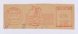 DDR AFS - LEIPZIG, Durch Unsere Arbeit Zur Einheit 23.5.52 - Geography