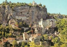 46 Rocamadour Château Vieux Logis Oratoires Tours Et Rocs (2 Scans) - Rocamadour