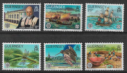 Guernsey SG253-258 1982 Europa. Centenary Of Société Guernesiaise Set 6v Complete Unmounted Mint [40/32375/25D] - Guernsey