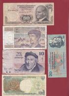 Pays Du Monde 40 Billets Dans L 'état Lot N °4 - Coins & Banknotes