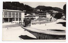 1968 YUGOSLAVIA, SLOVENIA, TRBOVLJE TO ZAGREB, MONUMENT, ILUSTRATED POSTCARD, USED - Yugoslavia