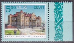 2008, EESTI, 622, Gutshof Kalvimois.  MNH ** - Estland