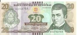 HONDURAS 20 LEMPIRAS 2014 UNC P 100 B - Honduras