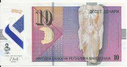 MACEDOINE 10 DENARI 2018 UNC P New - Macedonia