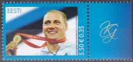 EESTI, 2008, 623, Goldmedaillengewinner Bei Den Olympischen Sommerspielen, Peking. MNH ** - Estland