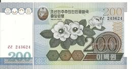 COREE DU NORD 200 WON 2005 UNC P 48 - Corée Du Nord