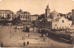 ALGER - Place Du Gouvernement Et La Mosquée Djéma-Djedid - Alger