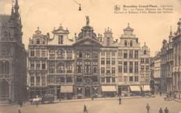 BRUXELLES - Grand-Place - Côté Nord-Est : Le Pignon (Maisons Des Peintres, Verriers Et Batteurs D'Or), ... - Places, Squares