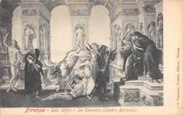 FIRENZE - Gall. Uffizi - La Calunnia (Sandro Botticelli) - Firenze (Florence)