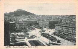 NAPOLI - Piazza Mucicipio E Castel S. Elmo - Napoli (Naples)