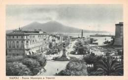 NAPOLI - Piazza Mucicipio E Vesuvio - Napoli (Naples)