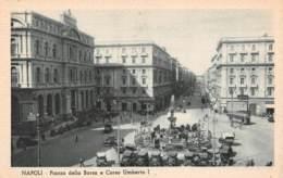 NAPOLI - Piazza Della Borsa E Corso Umberto I - Napoli (Naples)