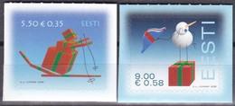 2008, EESTI, 627/28, Weihnachten. MNH ** - Estland