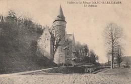 Marche-les-dames  Vallée De La Meuse Le Chateau Circulé En 1923 - Namur