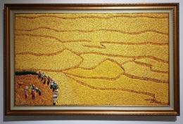 Golden Harvest, Original By Deceased Famous Painter, Made Kedol Subrata, Bali - Oils