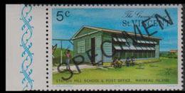 ST.VINCENT GRENADINES 1976 Post Office 5c Houses Maryeau Is. MARG.SPECIMEN - St.-Vincent En De Grenadines