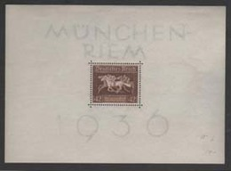 GERMANY1936: Michel Block #4, UNH- Very Nice And Rare - Deutschland