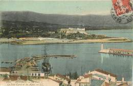 """.CPA FRANCE 06  """"Antibes, Le  Fort Carré """" - Antibes"""