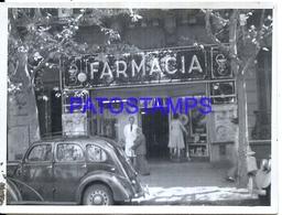 113742 ARGENTINA OLD FARMACIA CORDERO OLD PHOTO NO POSTAL POSTCARD - Fotografie