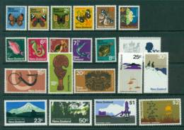 New Zealand 1970-1 Defins MUH (21) Lot28588 - Nouvelle-Zélande