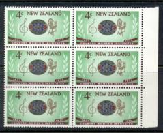 New Zealand 1971 CWA Blk4 MUH - Unused Stamps