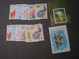 Guinea Lot  ** MNH Orchids - Guinea (1958-...)