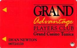 Grand Casino Tunica MS - 2nd Issue Slot Card - Casinokarten