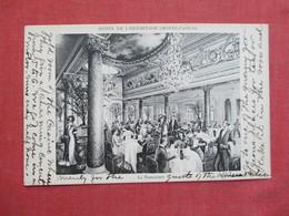 Monaco > Monte-Carlo Le Restaurant  Hotel De L'Hermitage    Ref 3416 - Monte-Carlo