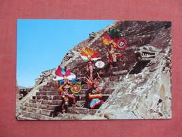 Temple Of Quetzalcoatl Mexico      Ref 3417 - Mexico