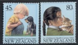 New Zealand 1993 Children's Health MUH - Nuova Zelanda