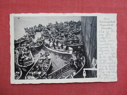 Accra  Small Boat Crowding Around Steamer       Ref 3417 - Other