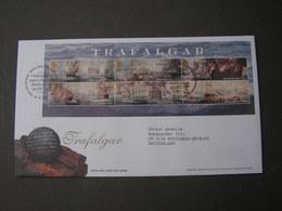 GB FDC 2005 Trafalgar - 2001-2010 Dezimalausgaben