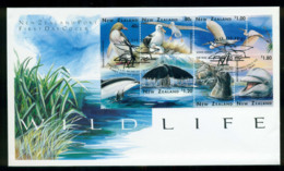 New Zealand 1996 Marine Wildlife  FDC Lot52854 - Nuova Zelanda