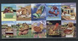 New Zealand 2000 New Zealand Popular Culture P&S Blk10 MUH - New Zealand