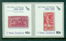 New Zealand 2005 Stamp Anniversary P&S (1955) MUH Lot17682 - Nuova Zelanda