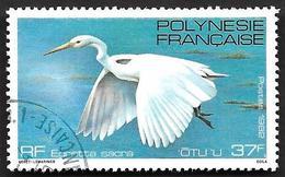 POLYNESIE 1982 -  YT  189 -  Aigrette - Oblitéré - Oblitérés