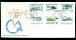 Ross Dependency 1982 Antarctic Scenes FDC Lot52883 - Ross Dependency (New Zealand)