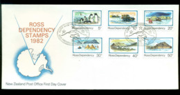 Ross Dependency 1982 Antarctic Scenes FDC Lot52883 - Nuovi