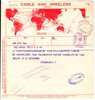 G.B. / Telegrams / Censorship / Cable + Wireless / Japan / Insurance - 1902-1951 (Kings)