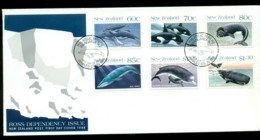 Ross Dependency 1988 Whales FDC Lot52884 - Ross Dependency (New Zealand)