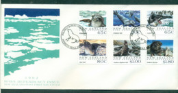 Ross Dependency 1992 Sealions FDC Lot52886 - Ross Dependency (New Zealand)