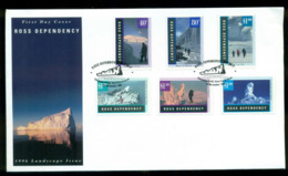 Ross Dependency 1996 Antarctic Landscapes FDC Lot52888 - Neufs