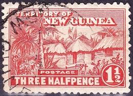 NEW GUINEA 19261.5d Orange-VermilionSG126aFU - Papua New Guinea