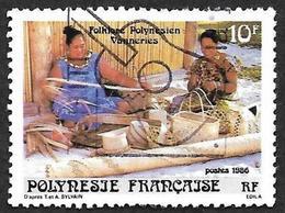 POLYNESIE 1986  -  YT  264 - Vanniers - Oblitéré - Oblitérés