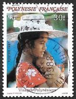POLYNESIE 1987 -  YT  273 - Visages - Oblitéré - Oblitérés
